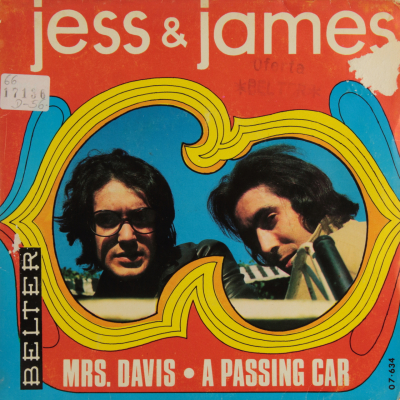 Mrs. Davis / A Passing Car