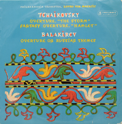 Tchaikovsky: Overture, The Storm; Fantasy Overture, Hamlet / Balakirev: Overture on Russian Themes
