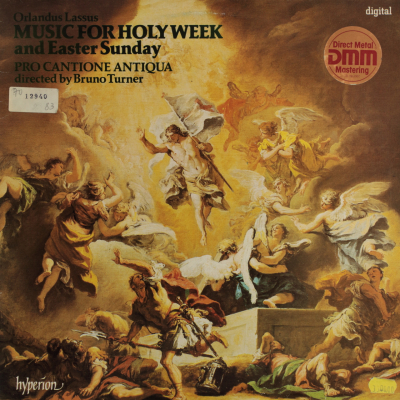 Lasso: Music for the Holy Week and Easter Sunday