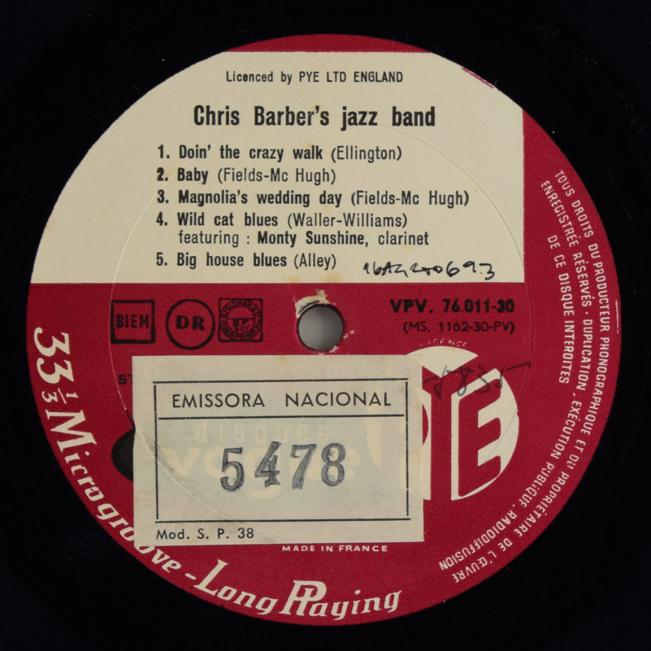 Chris Barber and His Jazz Band Vol. 2